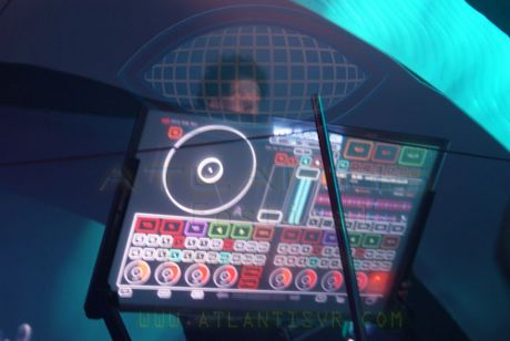 DJ TRANSPARENT TABLE